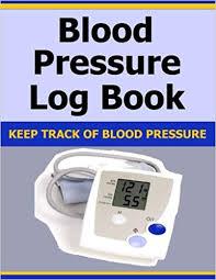 omron blood pressure diary blood pressure log book keep track of blood pressure amazon co uk