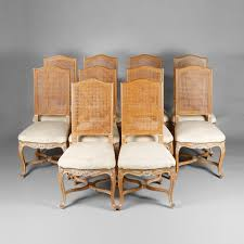 Suite Of Ten Regency Style Chairs 20th Century Regency Furniture61