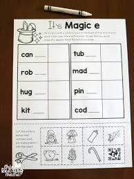 More Magic e Words Freebies - This Reading Mama