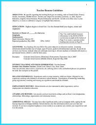 Resume Unusual Teacher Resume Examples And English Teacher Cv