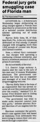 Harvey Kelley Sims - jury begins deliberation - Newspapers.com
