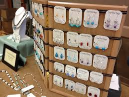 Earring Display Stand Diy Birdy Chat DIY Craft Show Earring Display Display Ideas 5