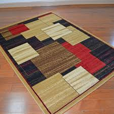 delectably yours com panes color block area rug 4 39 x 5