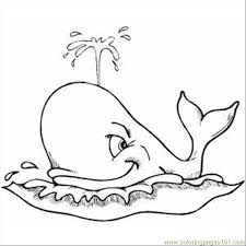 Small Picture Spouting Whale Coloring Page Free Whale Coloring Pages