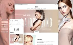 Hair Saloon Websites Build A Salon Website With The Help Of 15 Best Templates Monsterpost