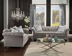 Architecture Cute Gray Tufted Sofa SM2225 01 Digital Tufted Gray Sofa Sm2225 Grey75