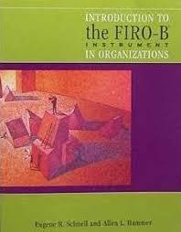 Firo B Introduction To Firo B Instrument In Organizations Anahat
