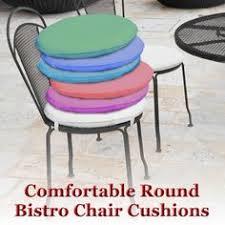 D Round Bistro Chair Cushions