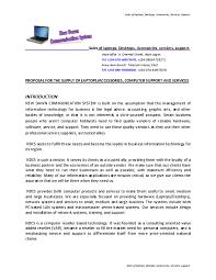 Sample Of Business Proposal Aledare Jude Academia Edu