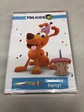 Pbs Kids Wordworld Birthday Party Dvd Ebay