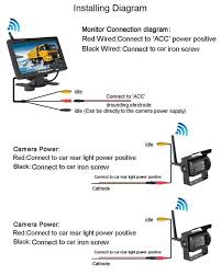 Wireless Reverse Camera Wiring Diagram Boyo Backup Camera Wiring Diagram