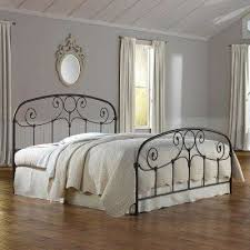 Wrought Iron - Bed Frame Mounted - California King - Beds ...