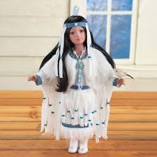 Dream Catcher Dolls Native American Porcelain Doll Beaded Dreamcatcher Certificate of 54