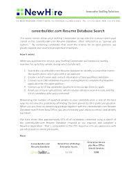 Free Resume Database Extraordinary Resume Database Search Letsdeliverco