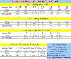 2019 New American Football Custom Jerseys All 32 Teams Customized Sewn On Any Name Any Number S 4xl Mix Match Order Men Womens Kids Jerseys From