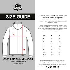 Soft Shell Jacket Size Chart Clinton Enterprises Size Guide Information