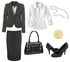 office wardrobe ideas. What To Wear A Job Interview: Conservative Outfit [Work Fashion, Business Attire, Professional Wear] Office Wardrobe Ideas