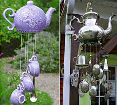 How To Make A Wind Chime Love This Windchime Made Out Of Recycled Silverware For The
