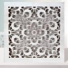 cuadro mandala de pared fabricada