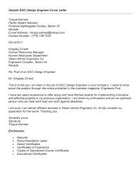 Letter Of Recommendation Mechanical Engineering Cover Letter For Design Engineer Mechanical Chechucontreras Com