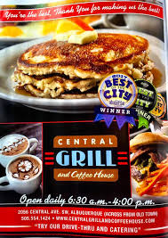 It is a working classroom that teaches. Central Grill And Coffee House Home Albuquerque New Mexico Menu Prices Restaurant Reviews Facebook