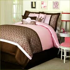 pink and brown bedding for s
