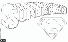 Small Picture Superman logo coloring page School stuff Clipart library