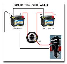 dual battery selector switch boat wiring easy to install battery positive boat wiring diagram