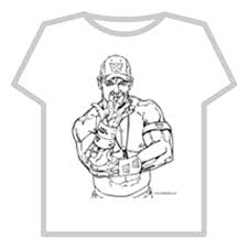 Small Picture john cena coloring page sourceldc Roblox