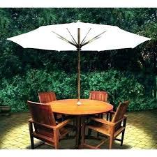 cantilever umbrella with solar lights astonishing led patio interior design 22