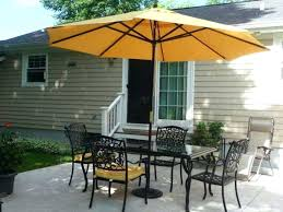 amazing patio table umbrella hole ring with table umbrella backyard umbrella table and patio