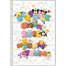 2018 TSUM TSUM Monthly Planner Schedule Book Pocket L/B6 Disney ...
