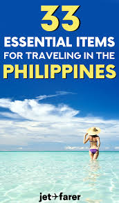 list for traveling the ultimate philippines packing list 33 essential items