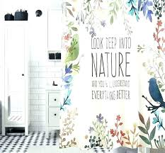 nature print curtains nature shower curtains look up in to nature shower curtain waterproof polyester fabric nature print curtains