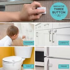 Child Safety For Cabinets Easyguard Child Safety Locks For Baby Proofing Cabinets And