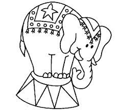 Coloring Page Of An Elephant Thewestudio