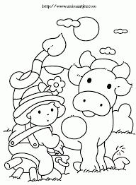 Kleurplaat Koe Kleurverfplaten Pinterest Vache Coloriage