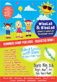 Summer Camp Pamplets 49 Summer Camp Flyer Templates Psd Eps Indesign Word Free