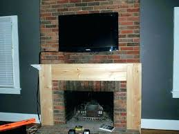 build fireplace surround build your own stone fireplace surround