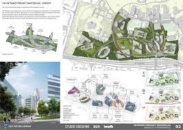 Landscape Design Presentation Board Studio Libeskind Future Campus Ucd International Design
