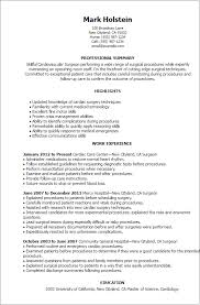skills and ability resumes professional surgeon templates to showcase your talent myperfectresume