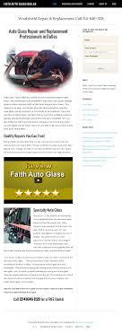 faith auto glass competitors revenue and employees owler company profile