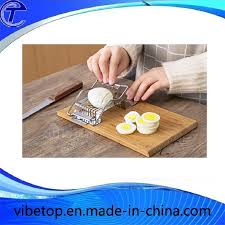 China Wholesale <b>Stainless Steel Cut</b> Egg Slicer - China Steel Egg ...