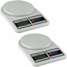 Small Kitchen Weighing Scales Digital 5kg 1g Lcd Electronic Kitchen Weighing Scale Set Of 2