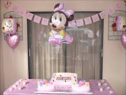 image of diy minnie mouse birthday decorations