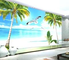 ocean themed wall decals ocean themed wall murals beach wall murals ocean beach tree crane walls ocean themed wall decals