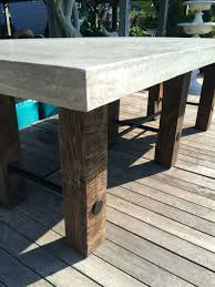 patio ideas outdoor concrete furniture for large size of coffee tablewonderful wood coffee table
