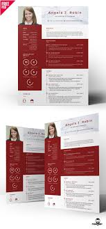 Professional Free Resume Template Psd Psddaddycom
