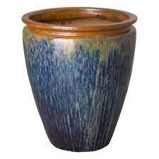 emissary 33 in h seafoam round ceramic