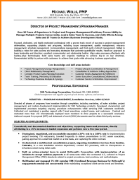 8 Program Manager Resume Mla Cover Page